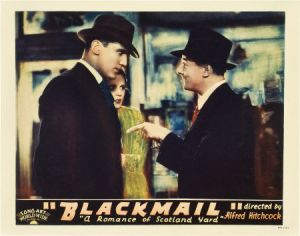 blackmail lobby card