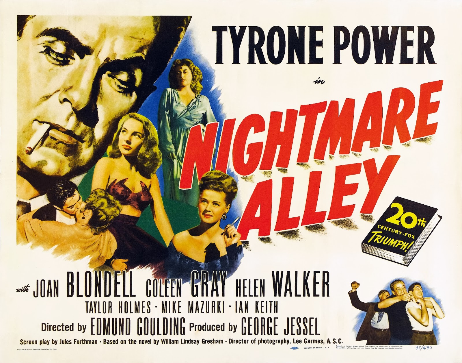 nightmare alley 1947