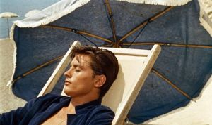 Alain Delon in Purple Noon
