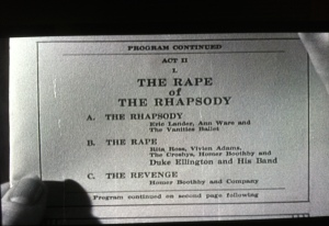 rape of rhapsody